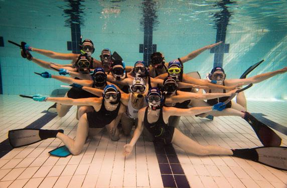 Su Sporları Dendiği Zaman Akla İlk Gelen Spor Dalları - Sualtı Hokeyi - Kurgu Gücü