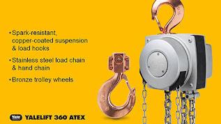 Darmatek Jual Chain Block -- YALE 360 Degrees