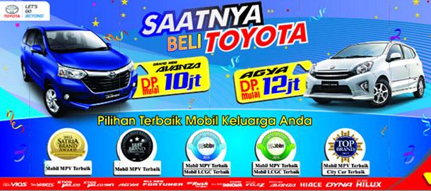 Harga Toyota 2016 Promo Toyota Nasmoco Cilacap Avanza DP Hanya 10 Juta dan Agya DP Hanya 12 JUta