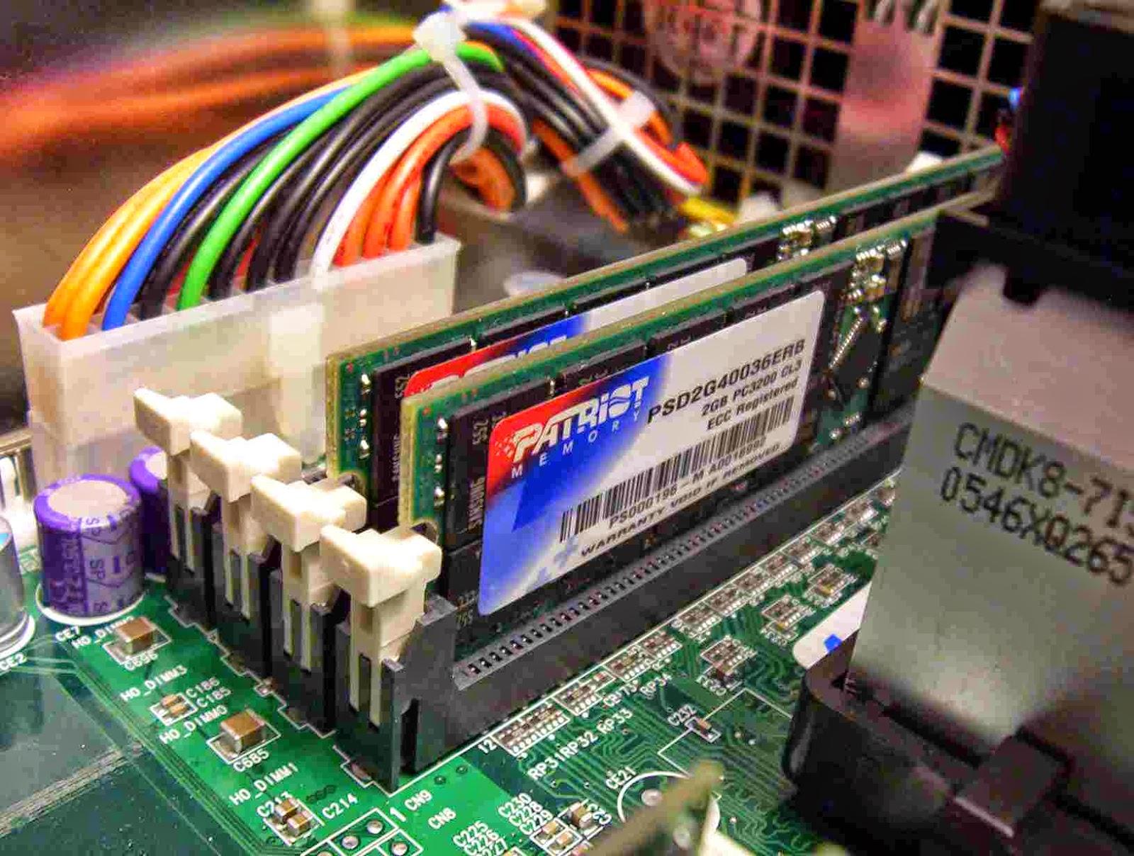 طريقة تنظيف رامات الكمبيوتر وتسريعه واصلاحها
