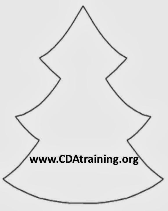 Child Care Basics Resource Blog: Candy Cane Christmas Tree