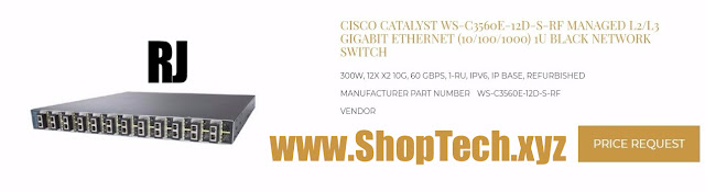 CISCO CATALYST WS-C3560E-12D-S-RF MANAGED L2/L3 GIGABIT ETHERNET (10/100/1000)