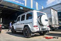 Doanh nhân Phạm Trần Nhật Minh lần đầu tiên xuống phố cùng Mercedes AMG G63 Edition sau khi ra biển số
