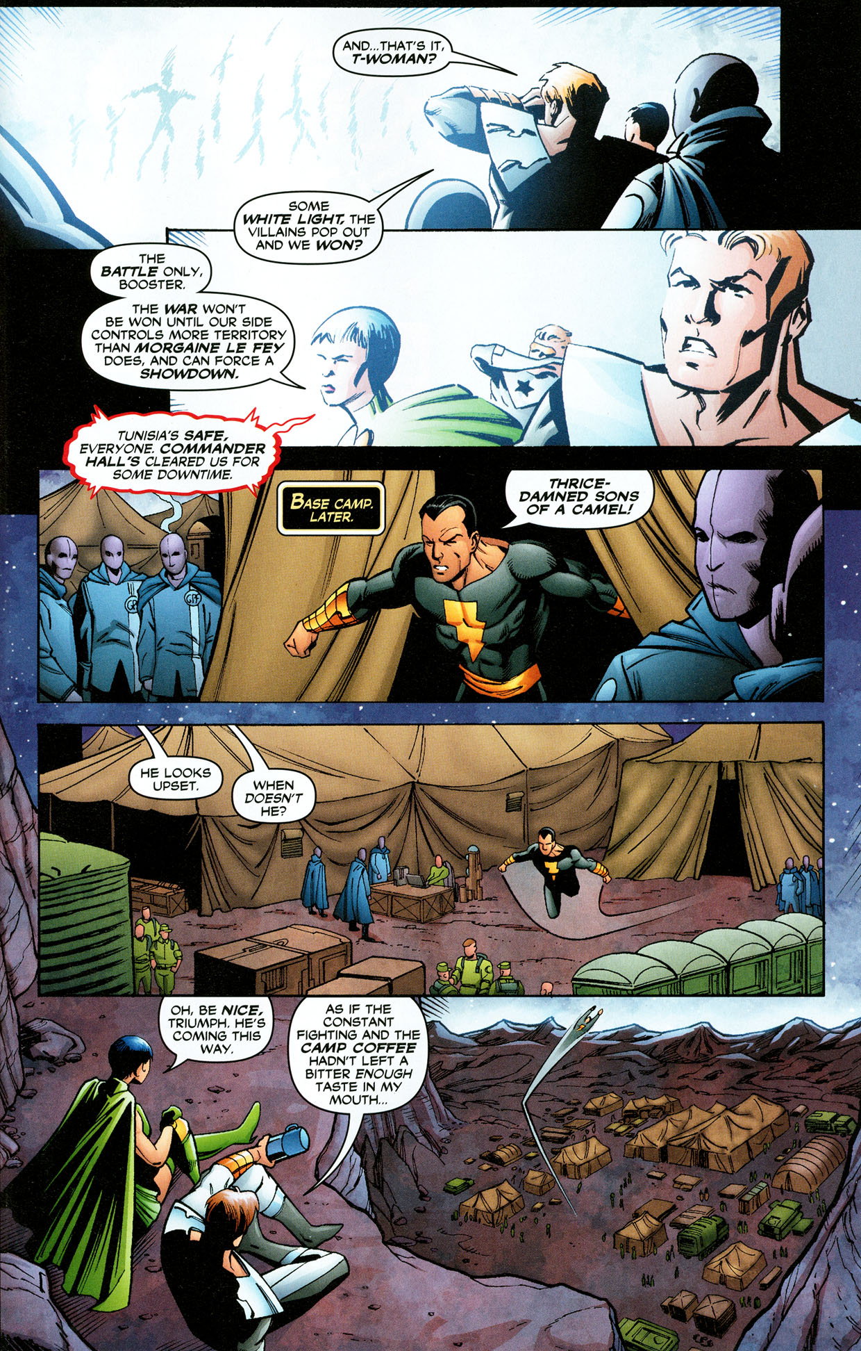 Read online Trinity (2008) comic -  Issue #32 - 22