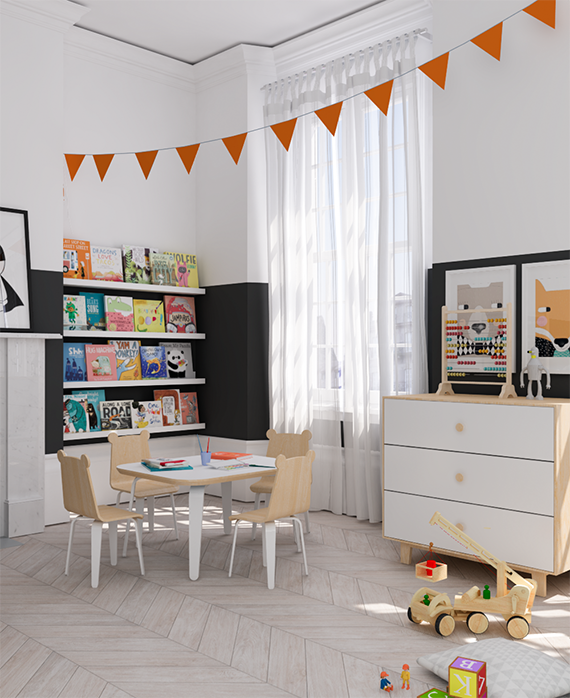 Kids Rooms Eclectic: Eclectic Kids Room Design + A Giveaway