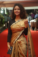Aditi Myakal look super cute in saree at Mirchi Music Awards South 2017 ~  Exclusive Celebrities Galleries 007.JPG