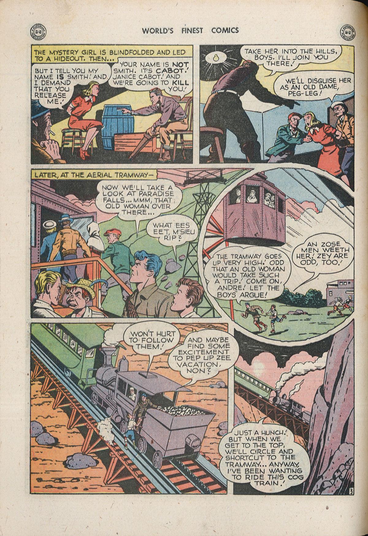 Read online World's Finest Comics comic -  Issue #33 - 50