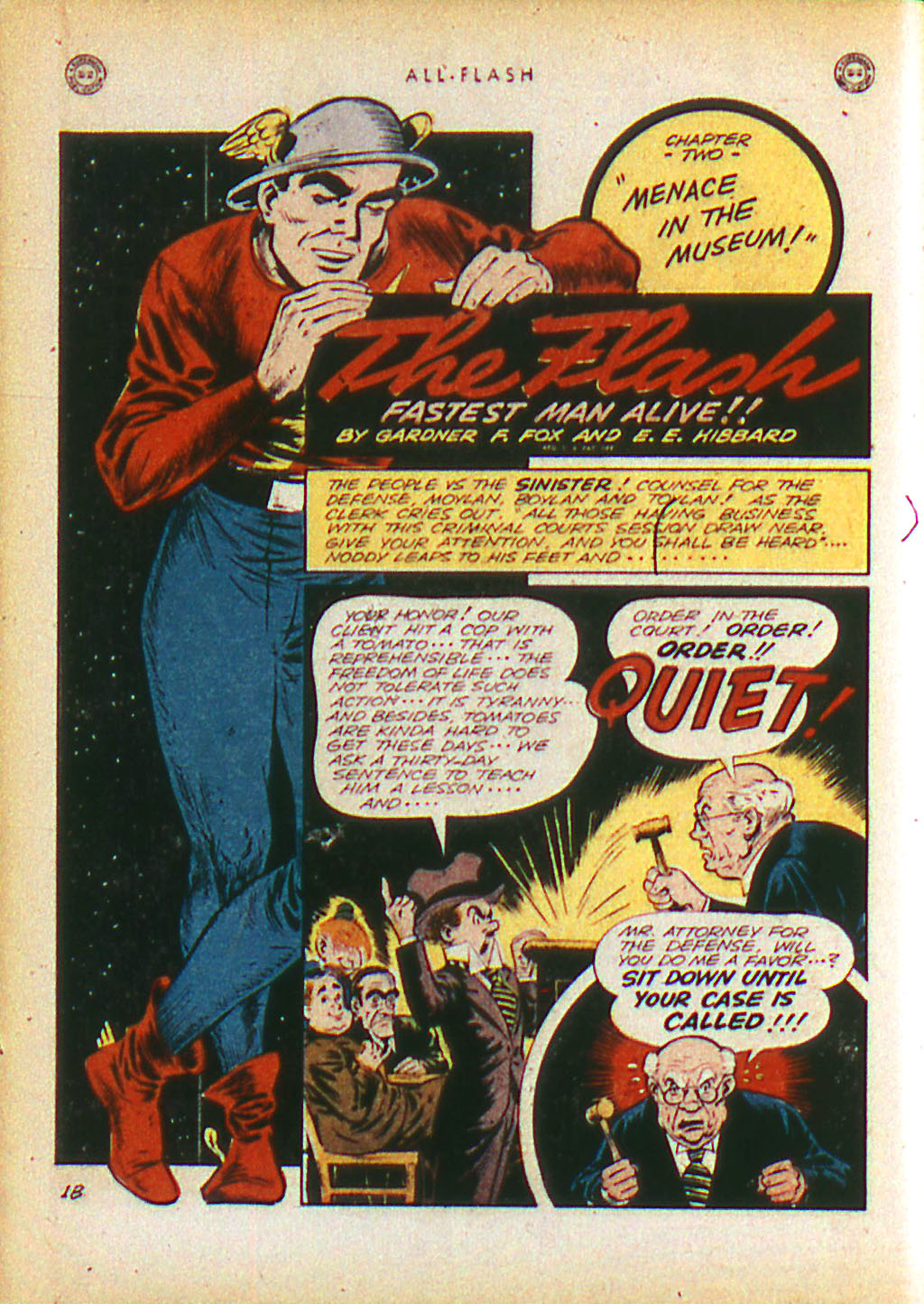 Read online All-Flash comic -  Issue #16 - 14