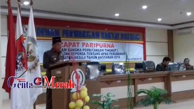 Pendapatan Daerah APBDP Mesuji Naik 2,31% Bebarengan Turunya PDP