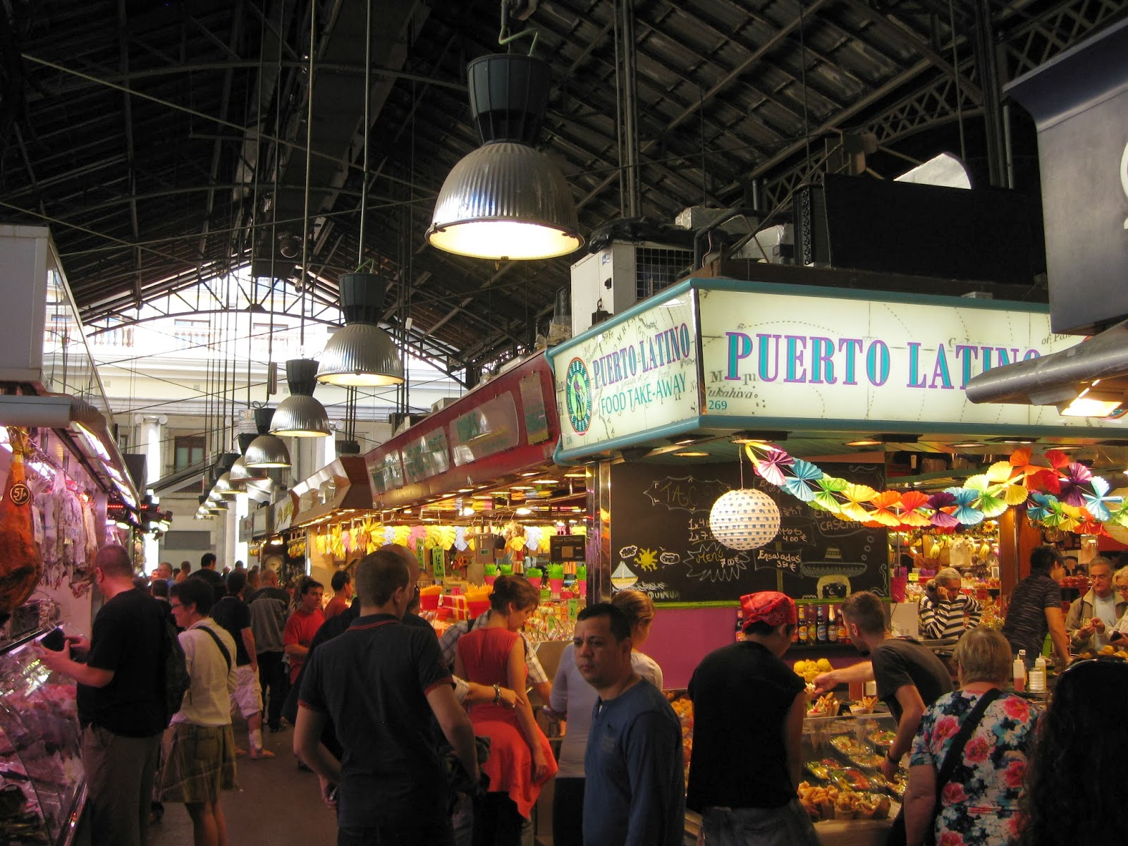 Barcelona - one of the many aisles in La Boqueria