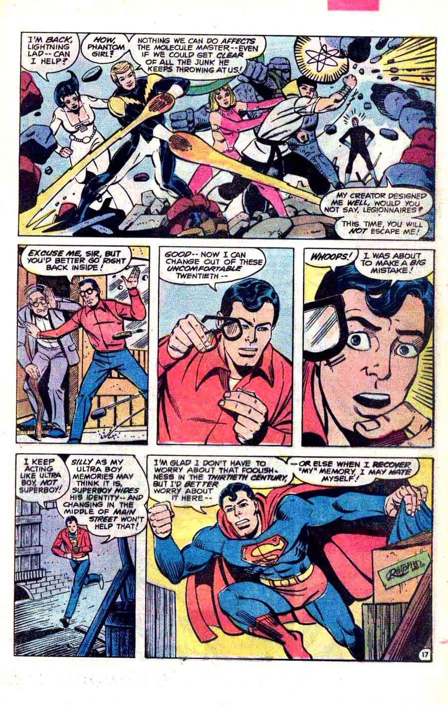 Legion of Super-Heroes v2 #281 - Steve Ditko dc 1980s comic book page art