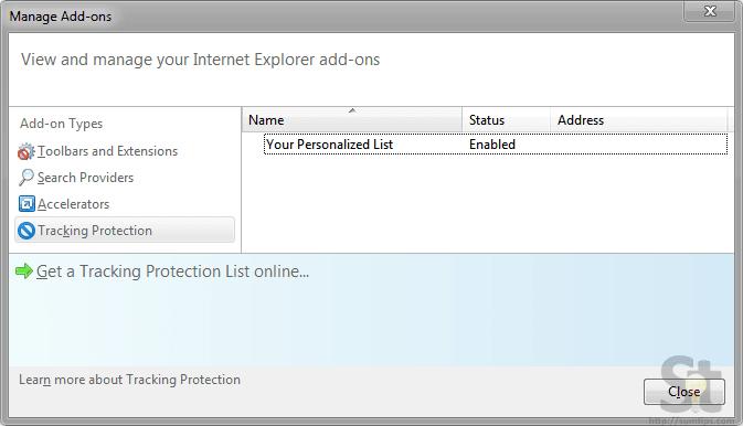 Do Not Track Internet Explorer
