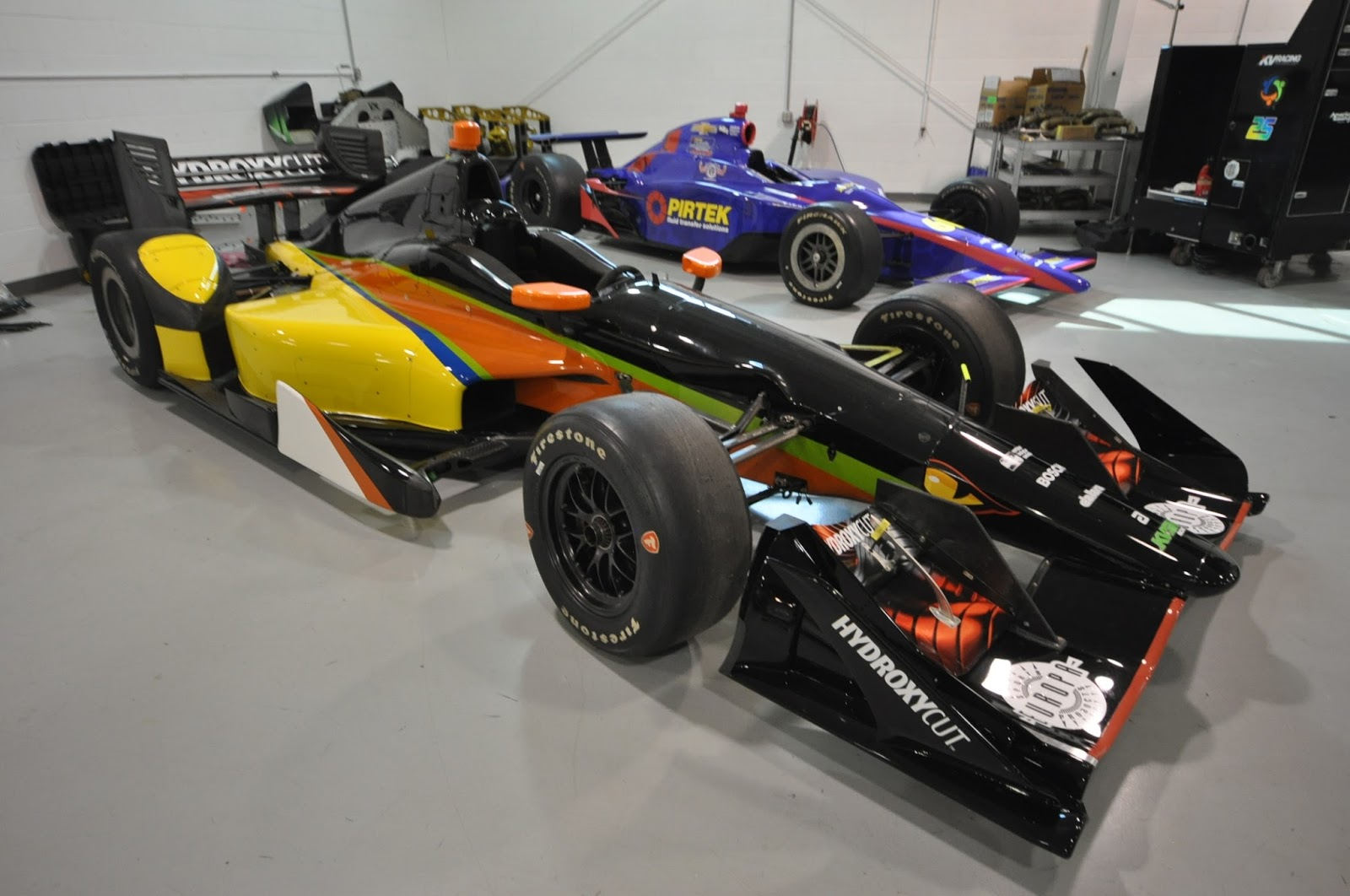 how to get into indy car racing