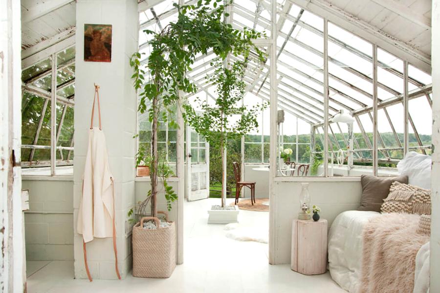 Re-styling di un Giardino d'Inverno