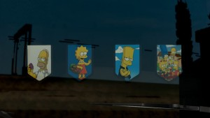Pennants Pack With The Simpsons #1