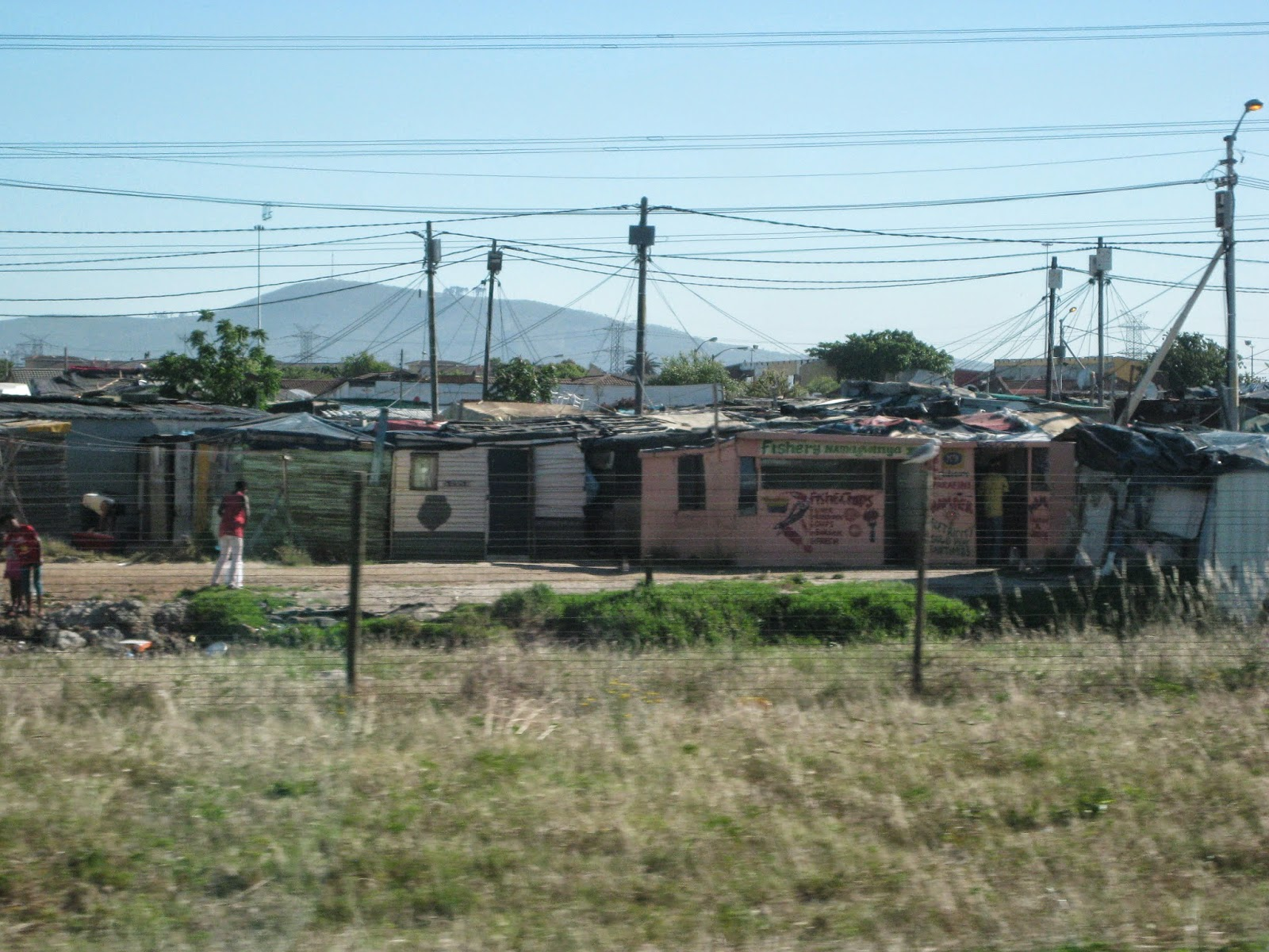 Cape Town - A glimpse of the shanty towns