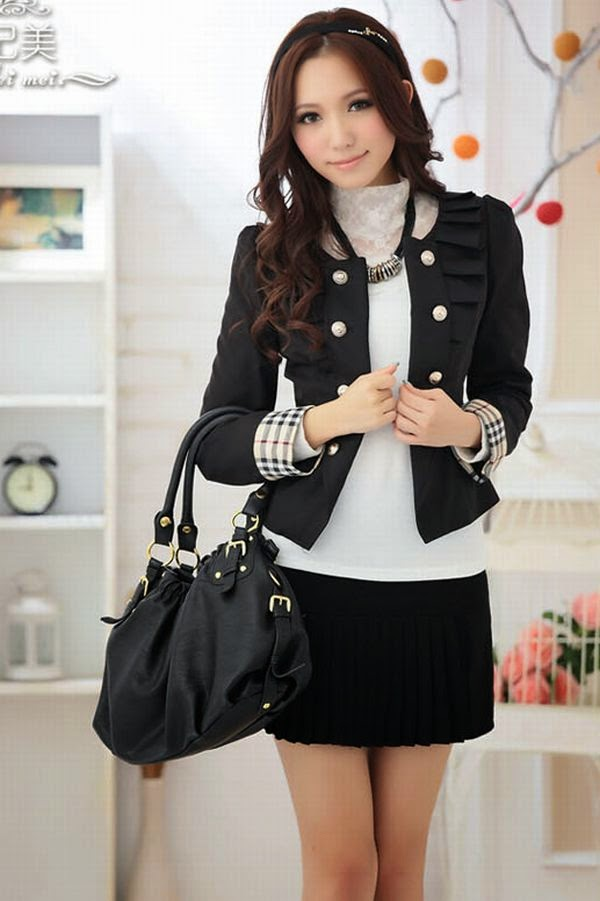 Baju%2Bkerja%2Bawanita%2BModel%2BBlezer%2Bterbaru 99 gambar model baju terbaru untuk wanita modis dan cantik gaya,Model Baju Wanita Korea