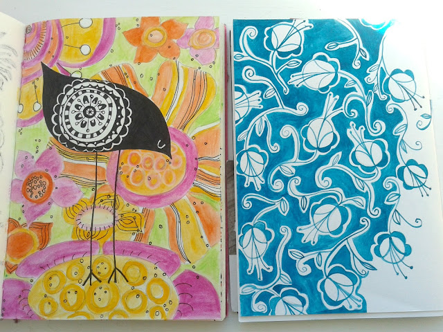 Jenny Blair, sketchbooks, handmade books, bookbinding, drawing, sketching