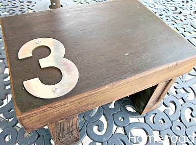 How to Make a Little Step Stool