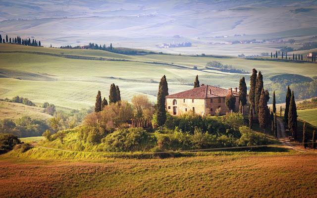 Italy tuscany summer