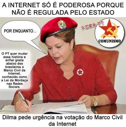 Resultado de imagem para dilma ditadora