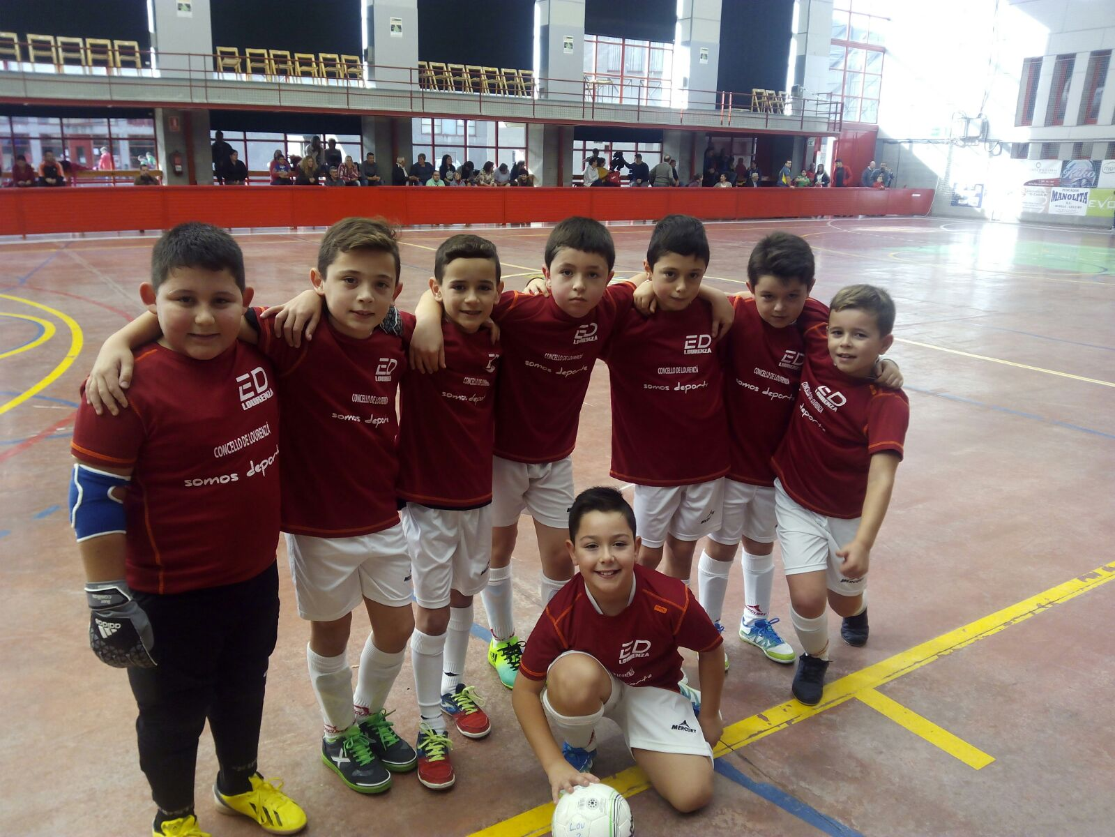 Escolas Deportivas Lourenz F Sala Victoria En Ribadeo Do  # Muebles Huertas Lourenza