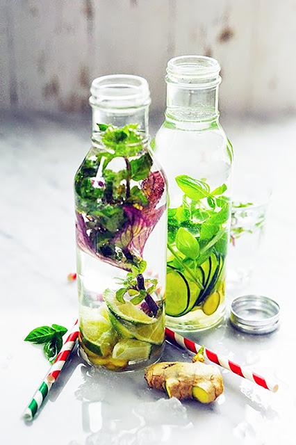 J'veux d'la fraicheur !!! Et si l'eau devenait ma boisson préférée ? Eaux parfumées au menu…
