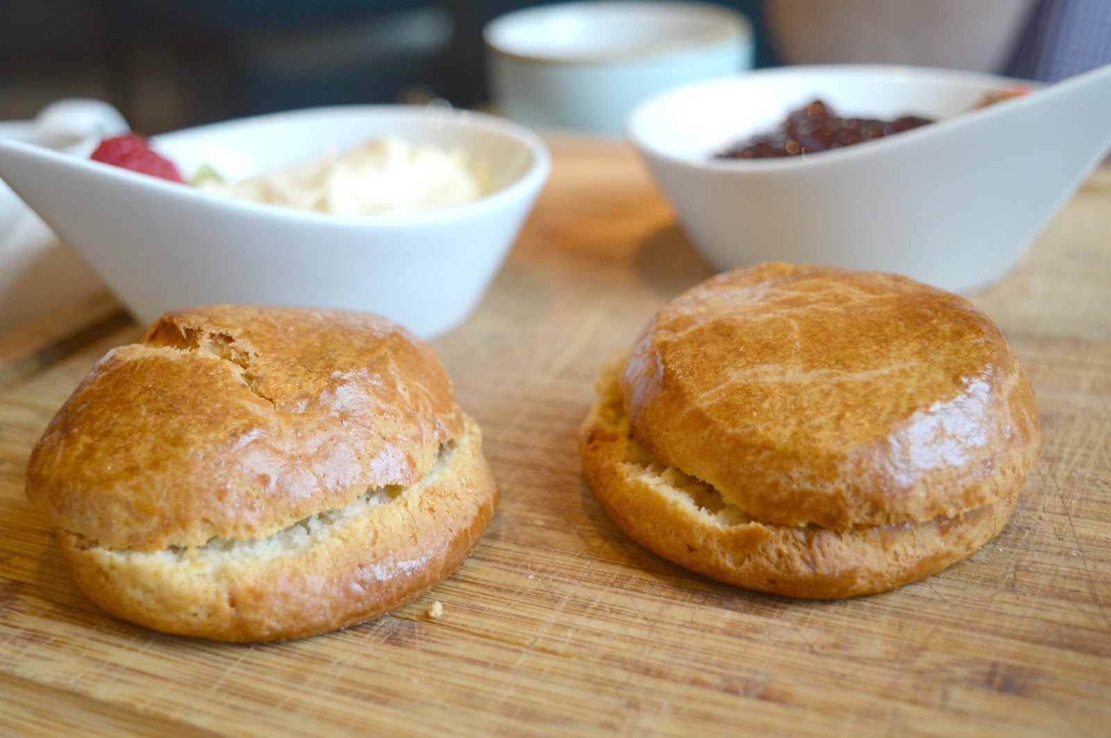 Afternoon Tea at The Painswick Hotel  - Scones