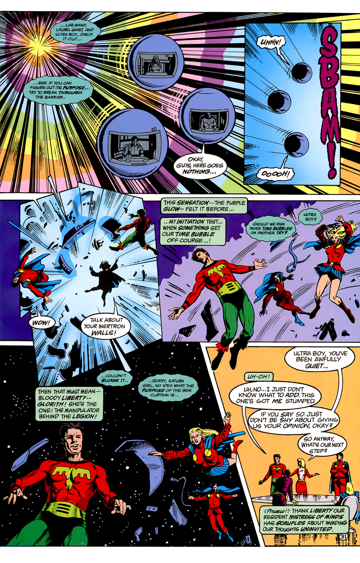 Legion of Super-Heroes (1989) _Annual_1 Page 31