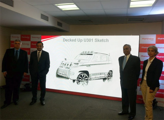 Mahindra TUV300 code named U301
