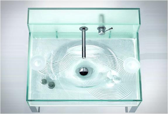 Pia Aquário  Design Innova -> Pia Para Banheiro Aquario