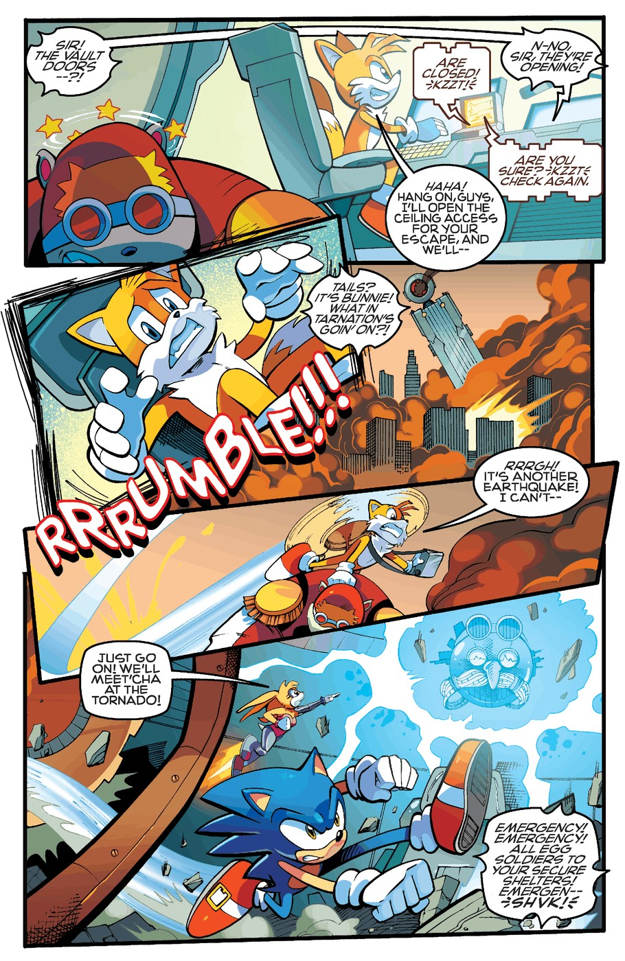 Read online Sonic The Hedgehog comic -  Issue #255 - 17