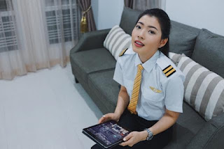 นั่งคุยกับนักบินหญิงคนสวยกับอาชีพทำรายได้เดือนละ 2 แสน