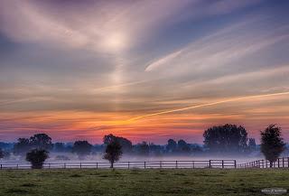 Sunrise & Sun pillar