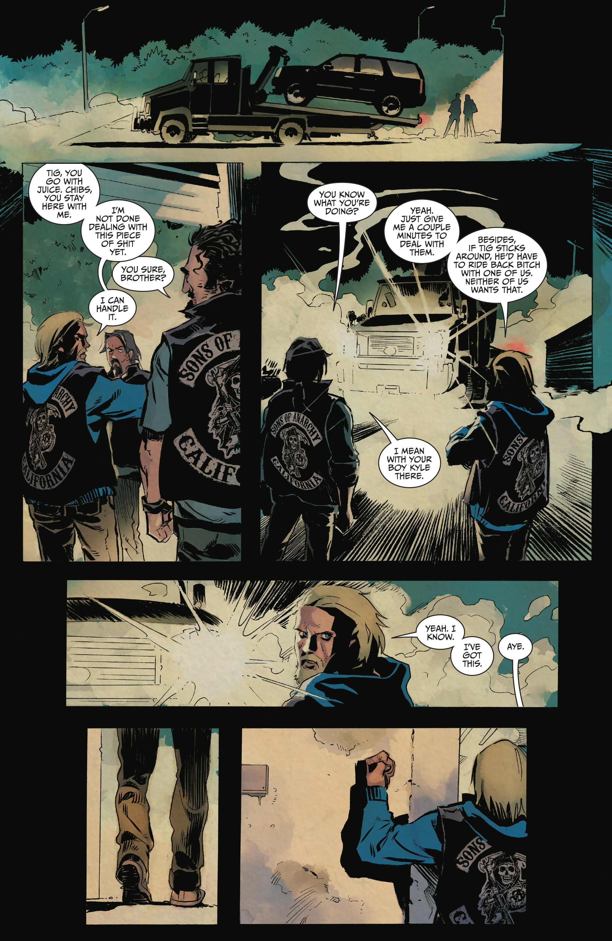 Read online Sons of Anarchy comic -  Issue #15 - 20