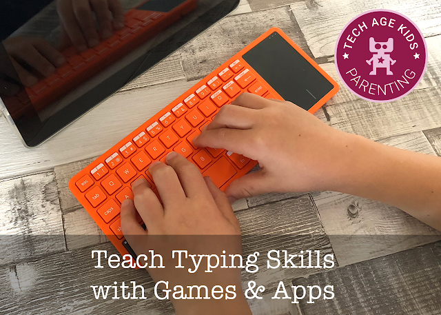 teach kids to type with games and apps