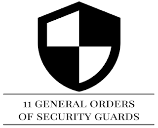 11 G.O. Of Security Guards