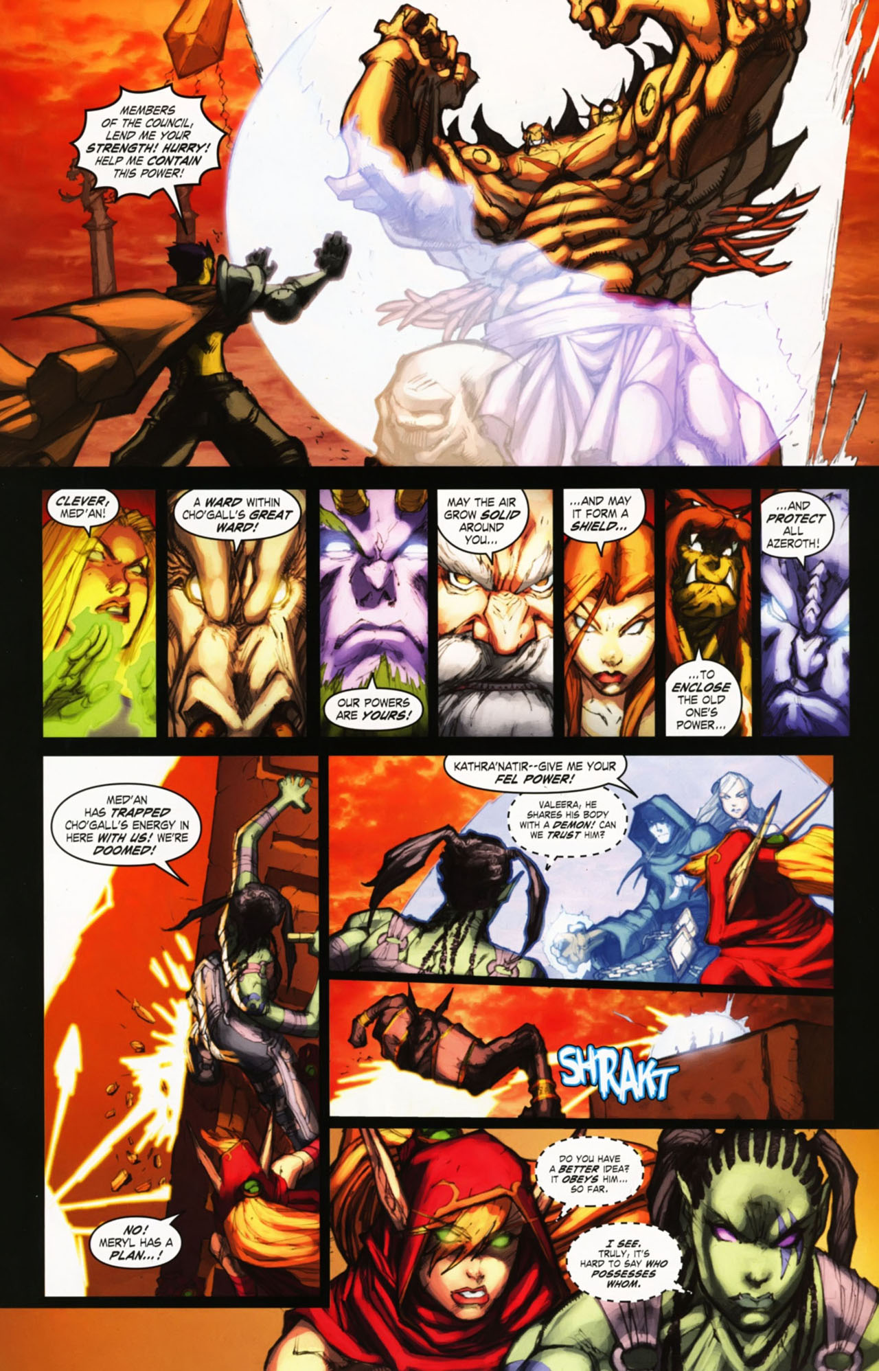 Read online World of Warcraft comic -  Issue #25 - 20