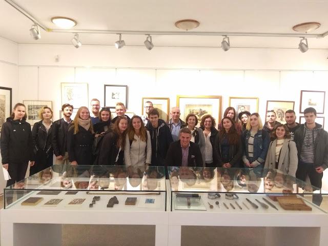 """Γιάννενα: Επίσκεψη των φοιτητών """"Erasmus στην Ζίτσα"""