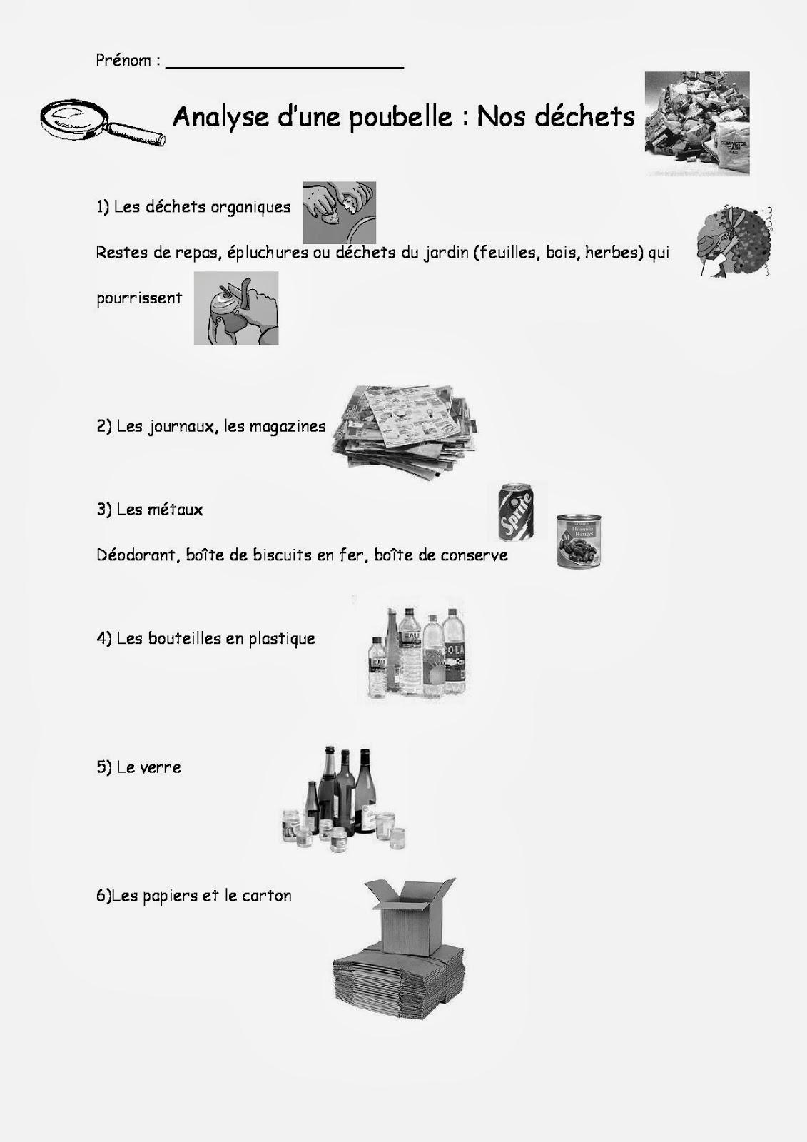 Le blog de cathnounourse op ration nettoyons la nature - Differents types de poubelles ...