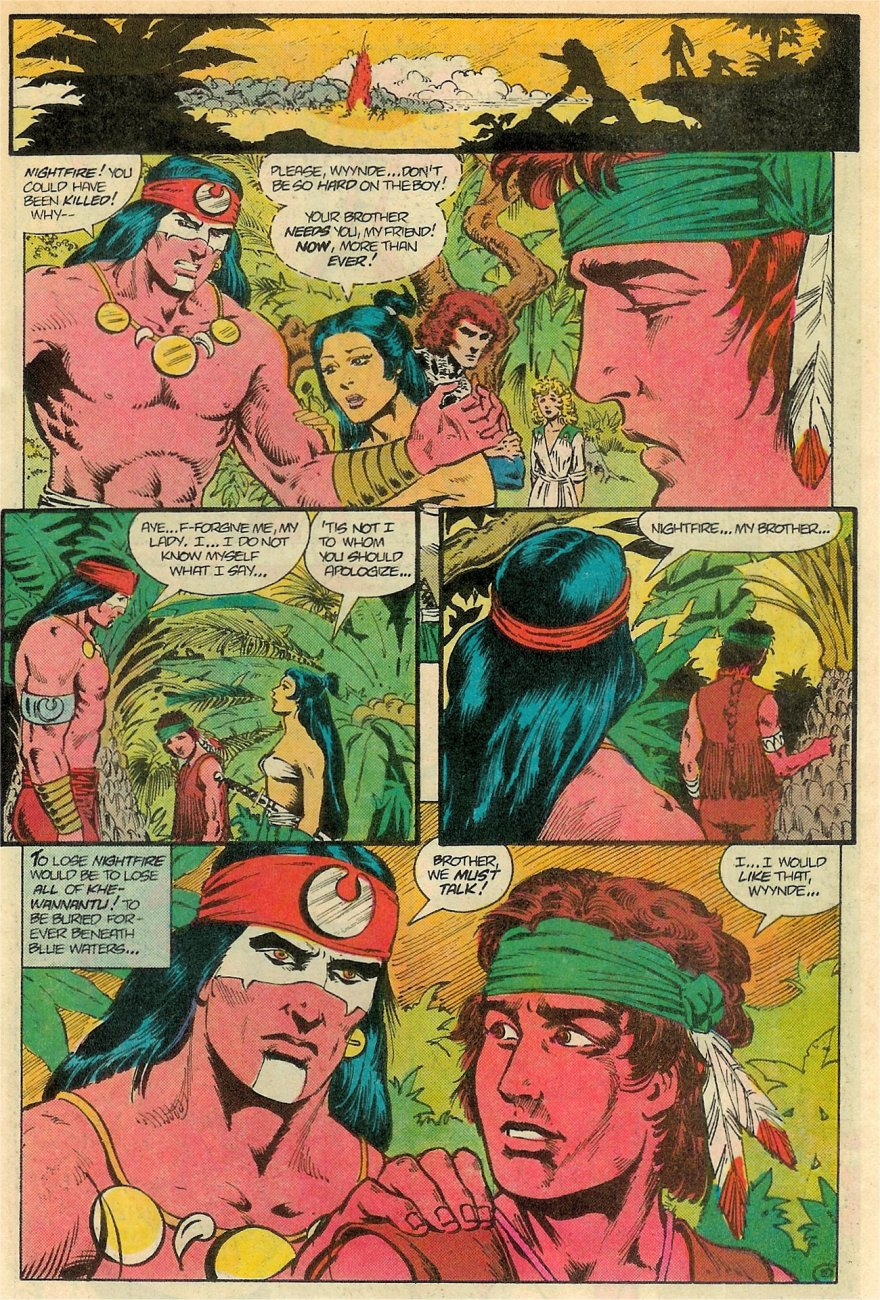 Read online Arion, Lord of Atlantis comic -  Issue #19 - 11