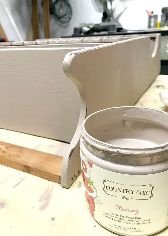 DIY Hanging Coffee Bar Cafe au Lait Paint