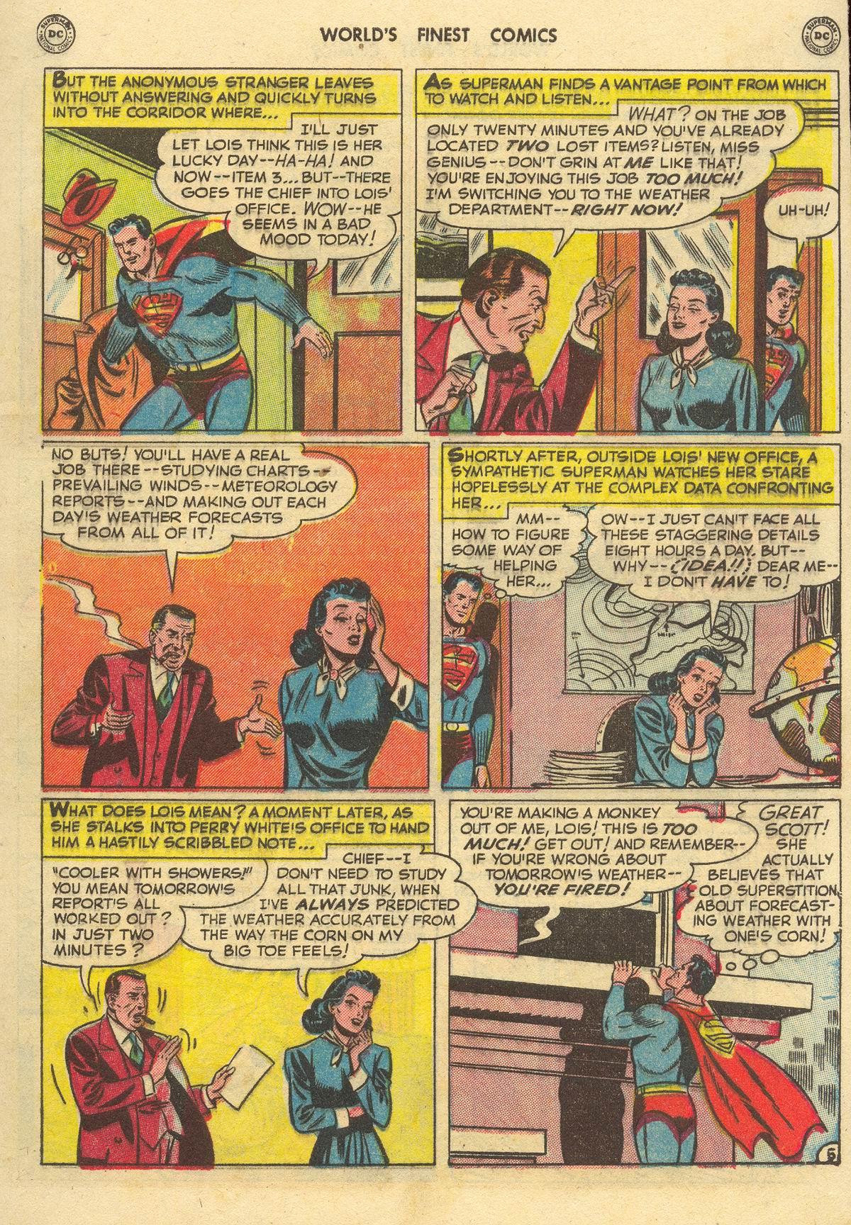 Read online World's Finest Comics comic -  Issue #51 - 7