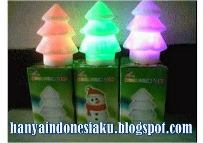 hadiah murah, hadiah natal, hadiah ulang tahun, lampu 7 warna, lampu natal, lampu pohon natal, lampu santa clause, lampu souvenir, lampu tidur, lampu unik menyala, produk unik menarik, souvenir murah,