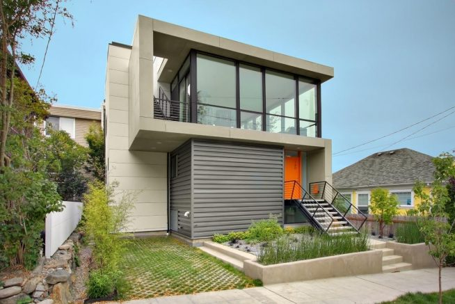 Minimalist Design Small House 1