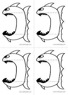 coloriage piranha