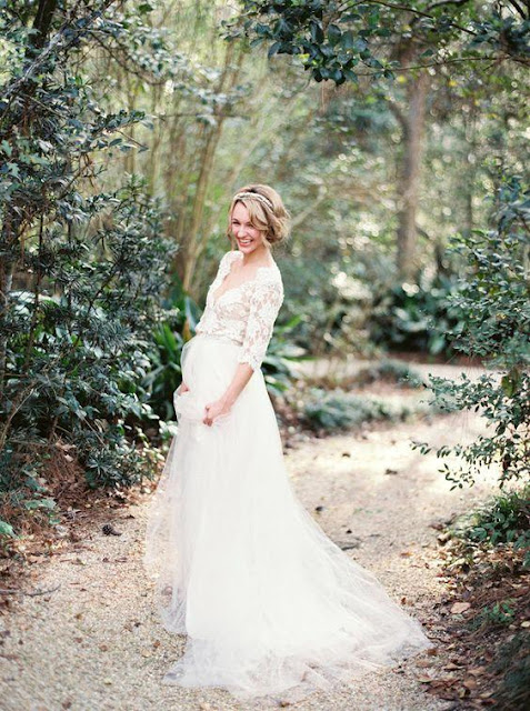 Gorgeous Hal-Sleeve Summer Lace Wedding Dress 2019 Tulle