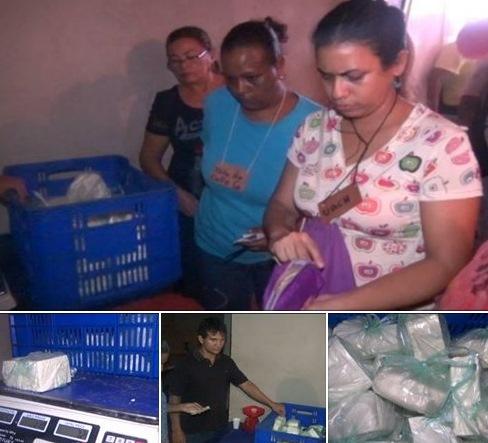 """Familias del sector """"Los Bloques"""" fueron favorecidos con venta de queso llanero en  San  Fernando."""