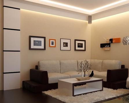 14 Desain Interior Ruang Tamu Minimalis Mungil Ukuran 3x4