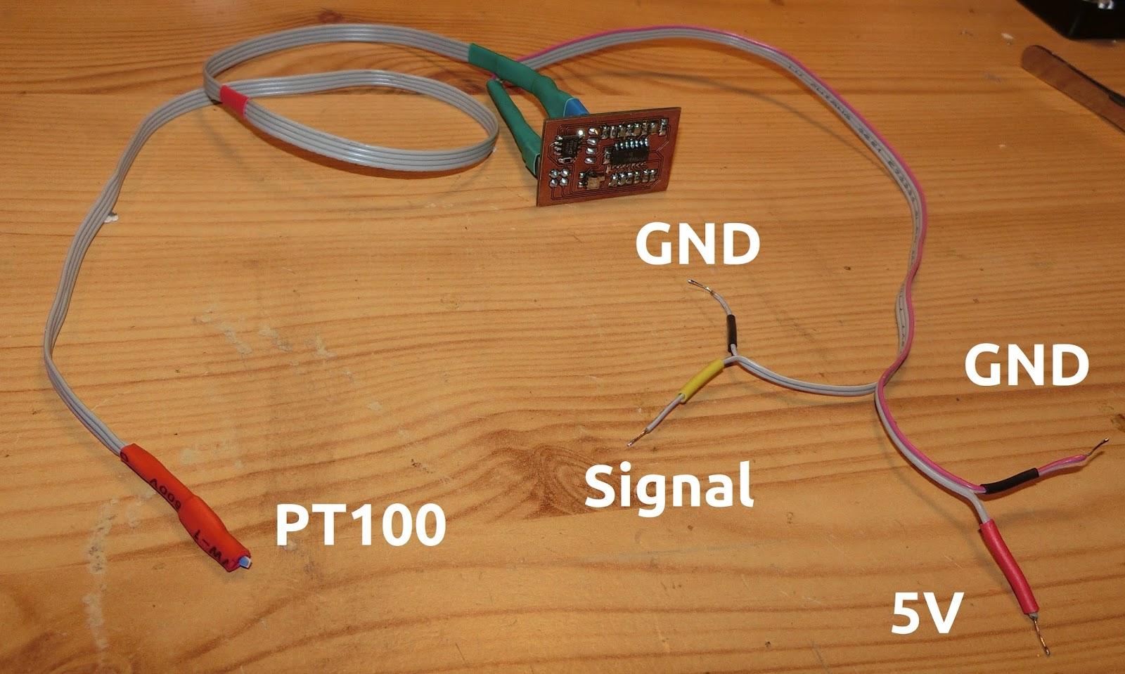 Tzen Lten Programmieren Ein Einfaches Thermometer Mit Pt100 Konstantstromquelle Fuer Power Led Mikrocontrollernet